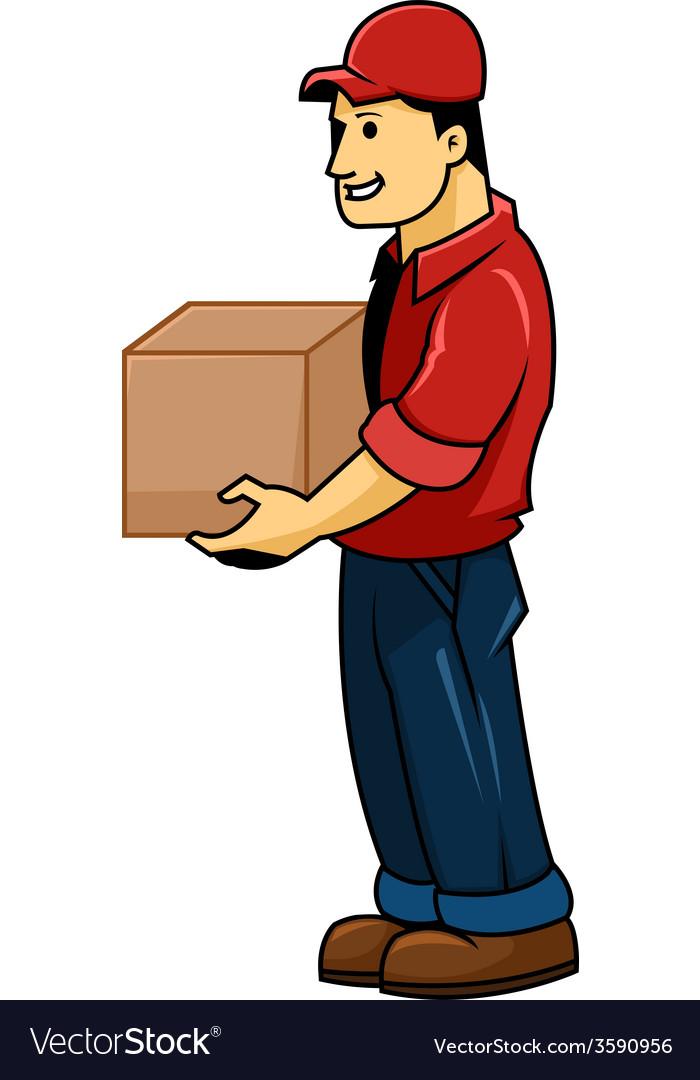 Delivery men vector | Price: 1 Credit (USD $1)