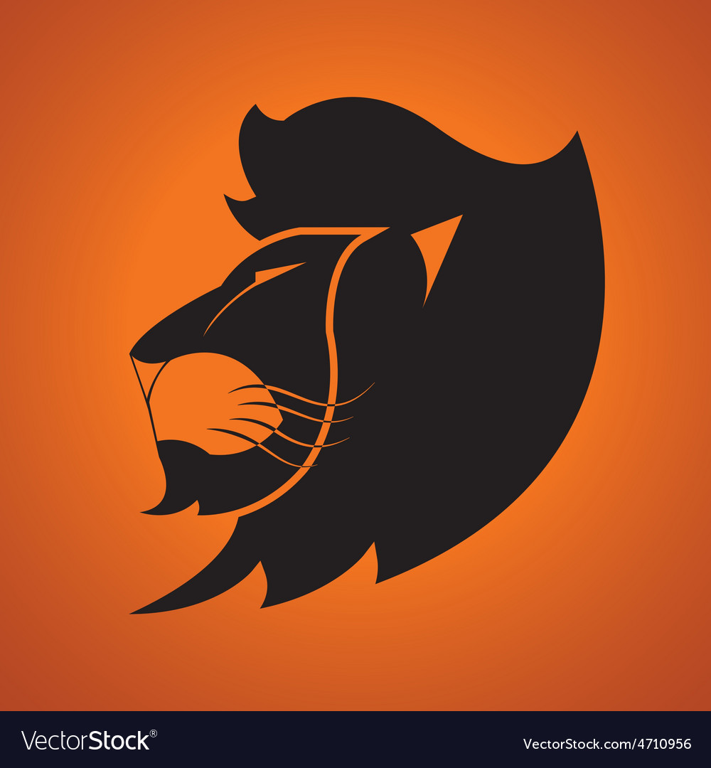 Lion logo vector | Price: 1 Credit (USD $1)