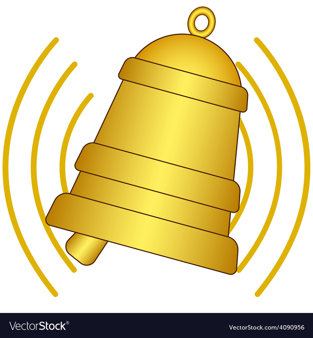 Ringing bell vector | Price: 1 Credit (USD $1)