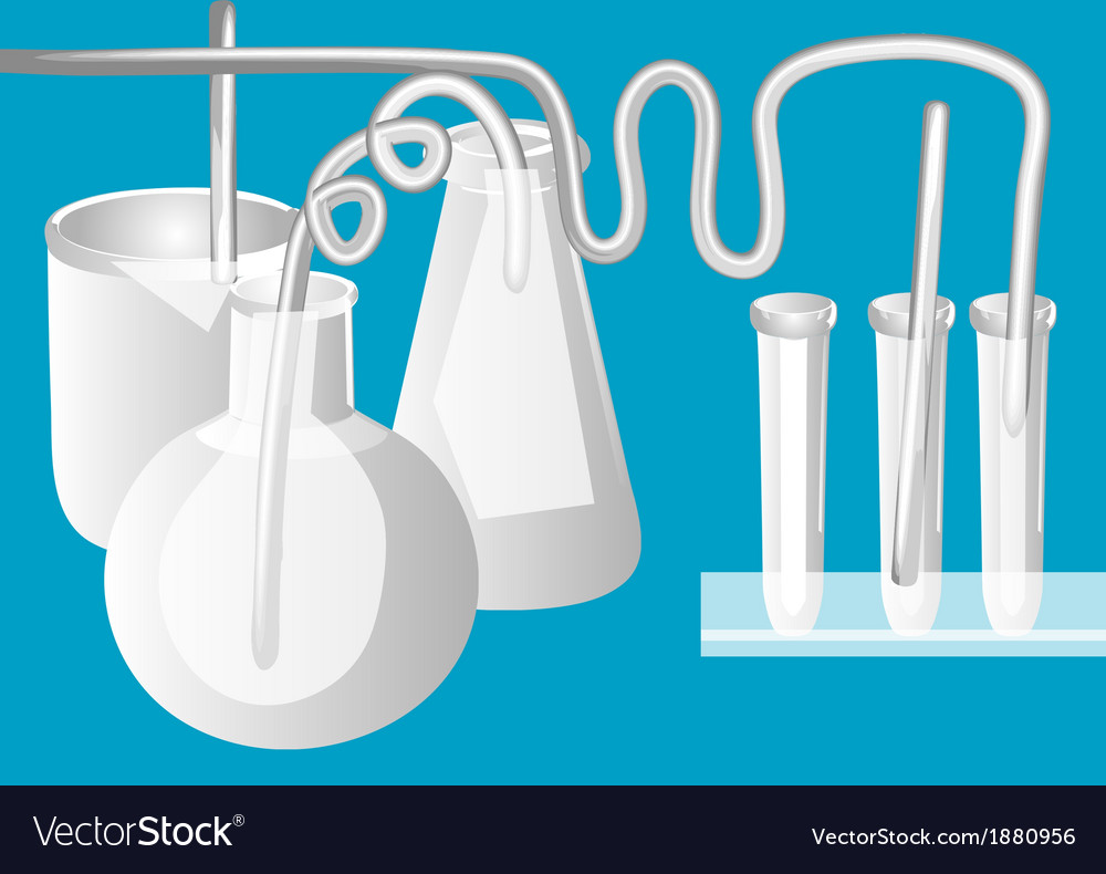 Science lab vector | Price: 1 Credit (USD $1)
