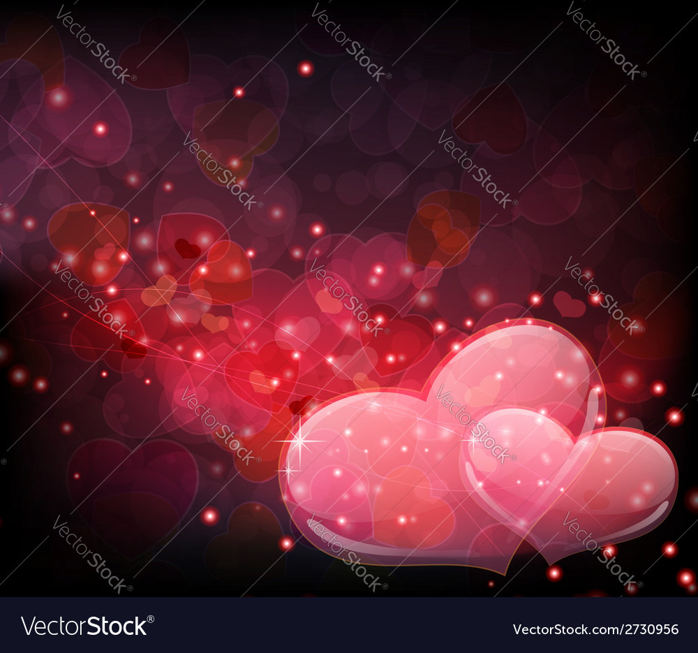 Transparent hearts vector | Price: 1 Credit (USD $1)