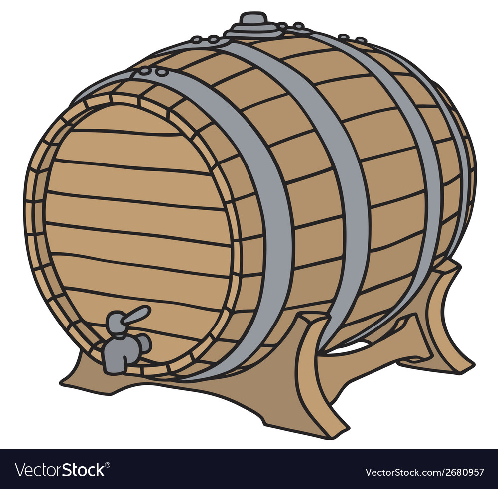 Barrel vector | Price: 1 Credit (USD $1)