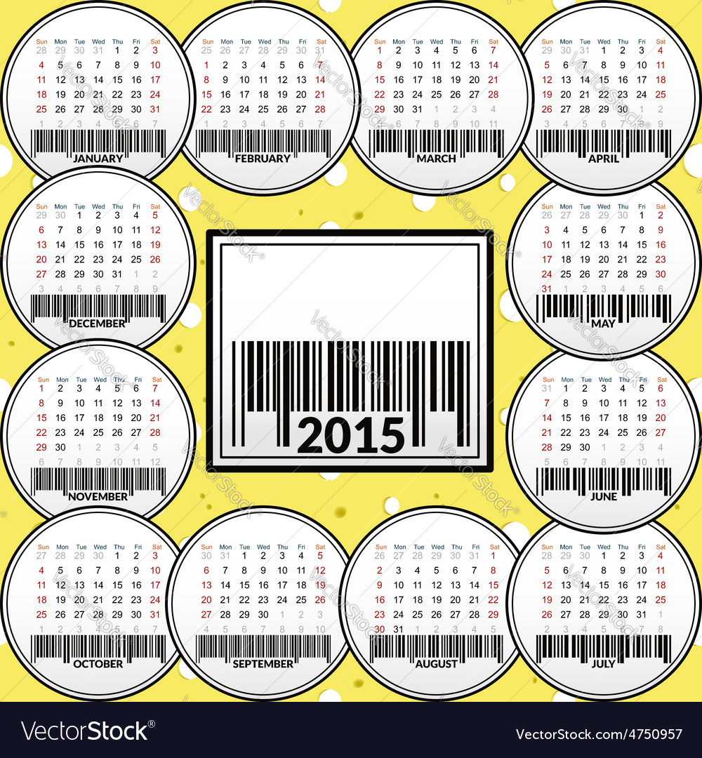 Calendar for 2015 on the background of cheese vector   Price: 1 Credit (USD $1)