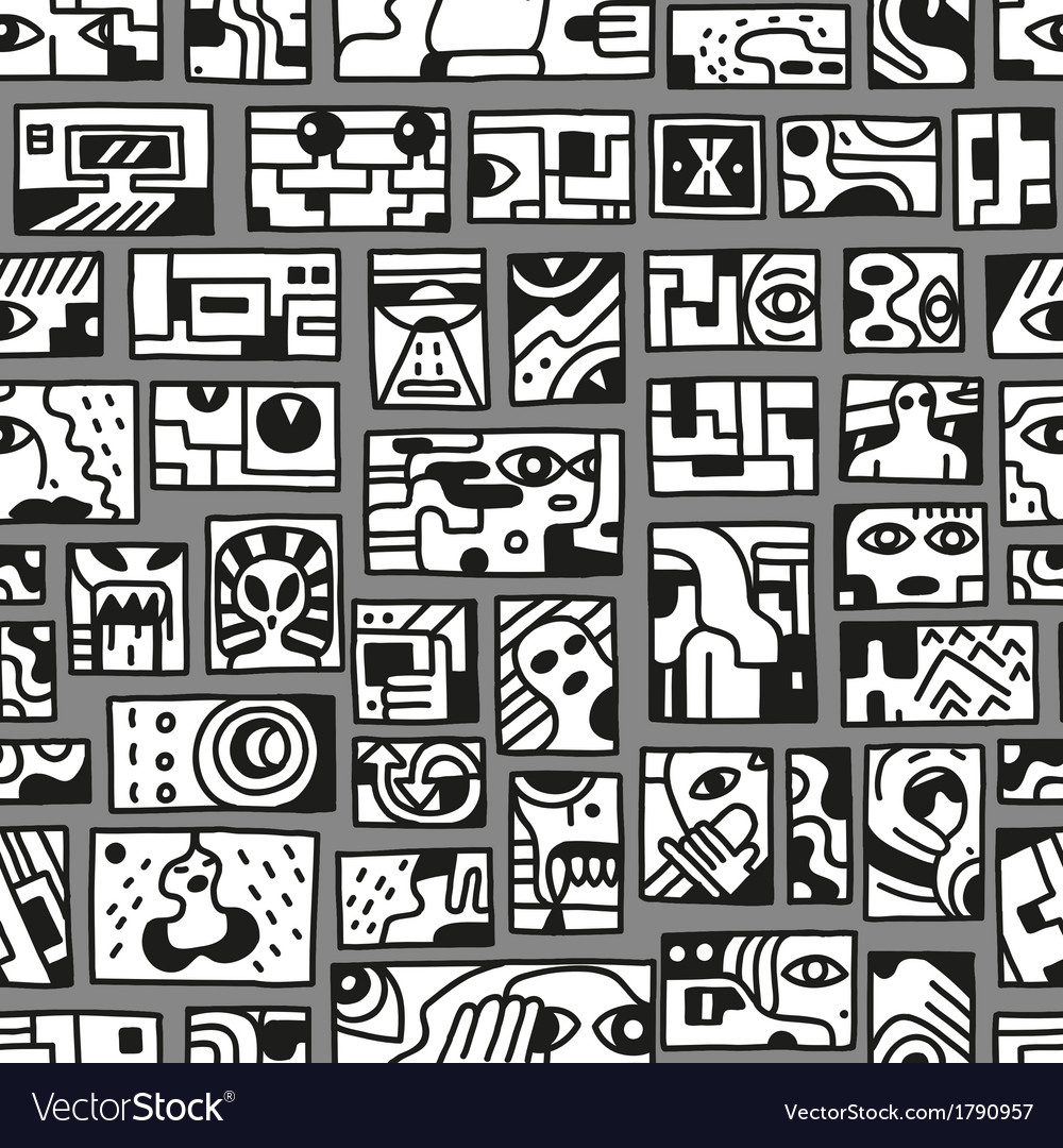 Fantastic story - seamless pattern vector   Price: 1 Credit (USD $1)