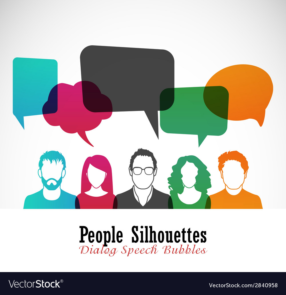 Coworkers vector | Price: 1 Credit (USD $1)