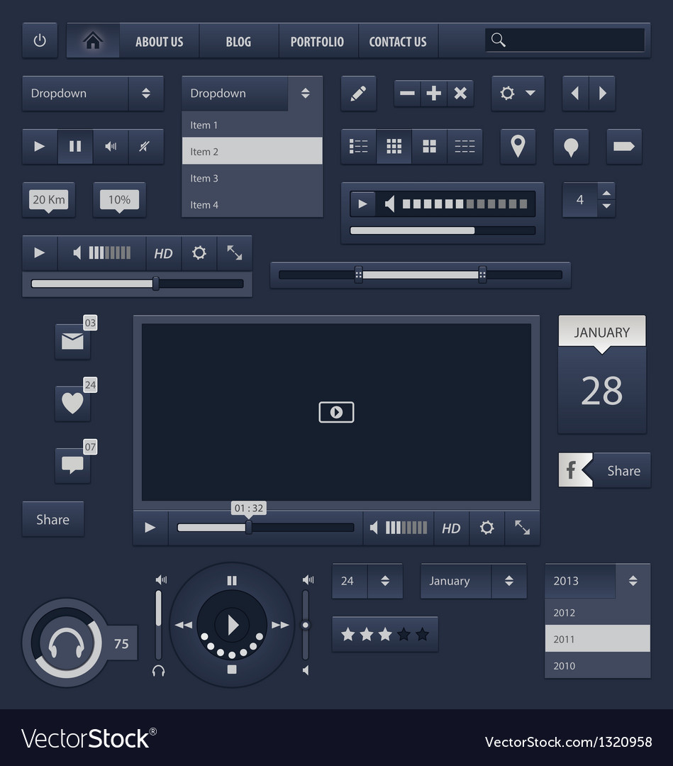 Gui 1 vector | Price: 1 Credit (USD $1)