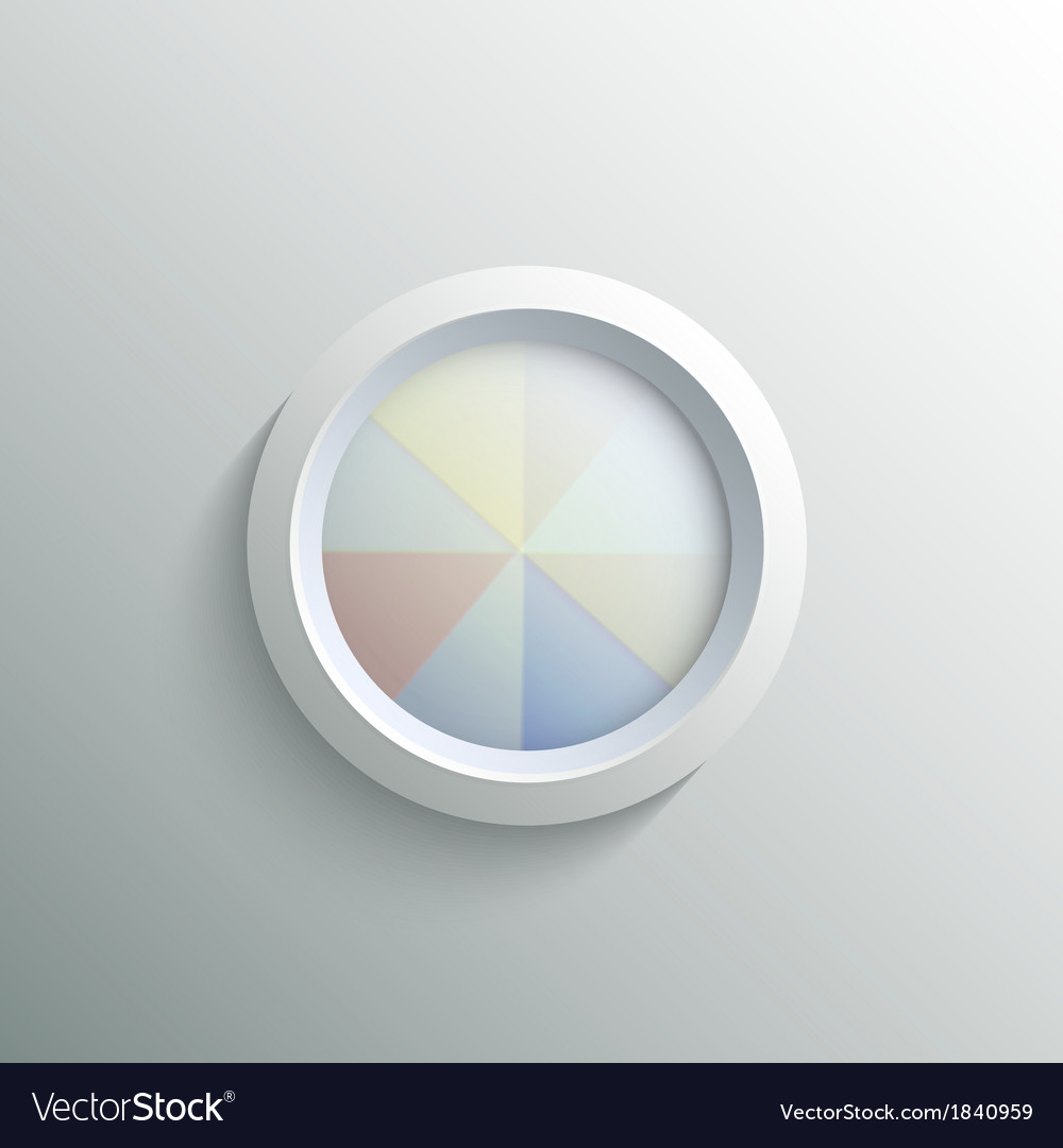 Abstract 3d circle vector | Price: 1 Credit (USD $1)