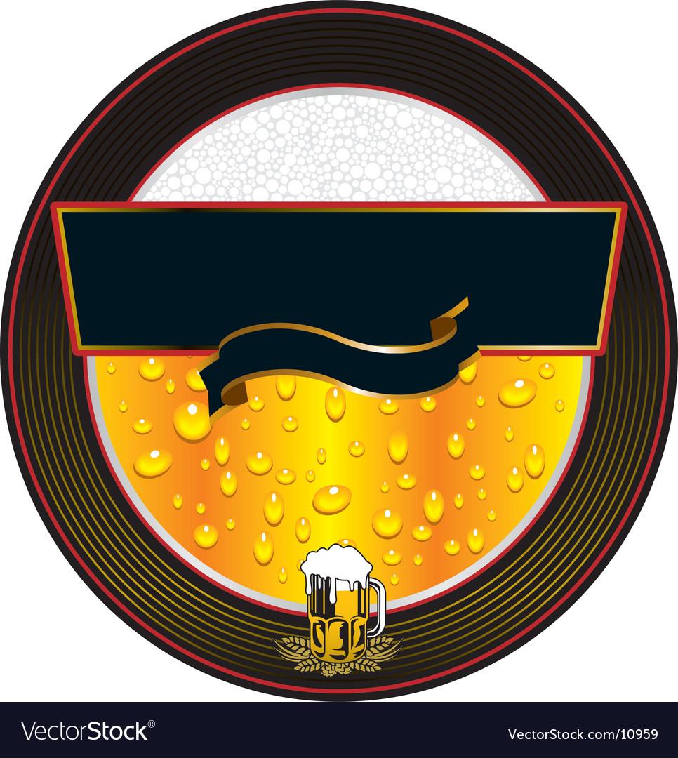 Beer fresh label vector   Price: 3 Credit (USD $3)