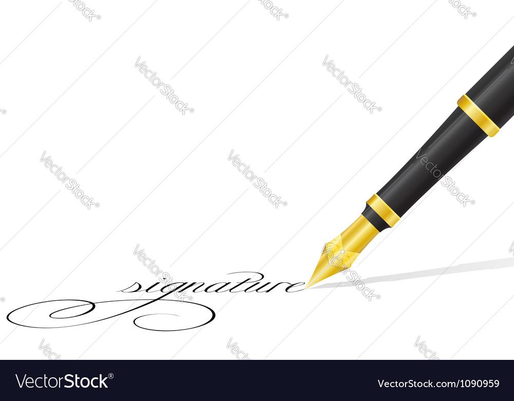 Ink pen 02 vector | Price: 1 Credit (USD $1)