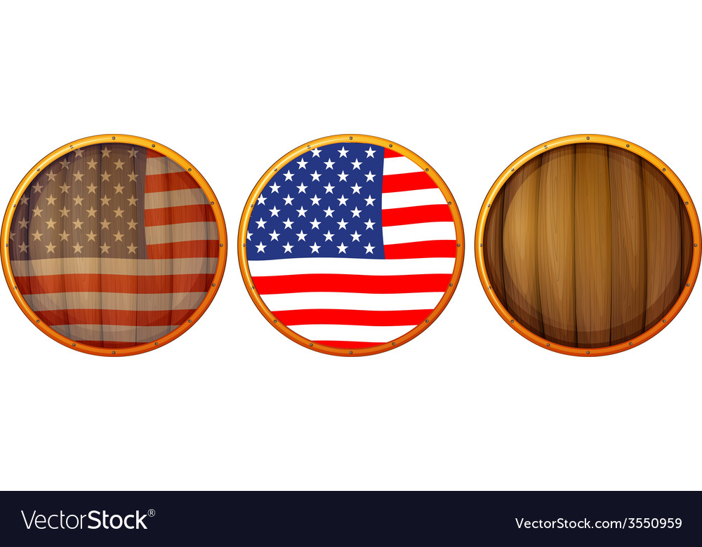 Wooden us icons vector   Price: 1 Credit (USD $1)