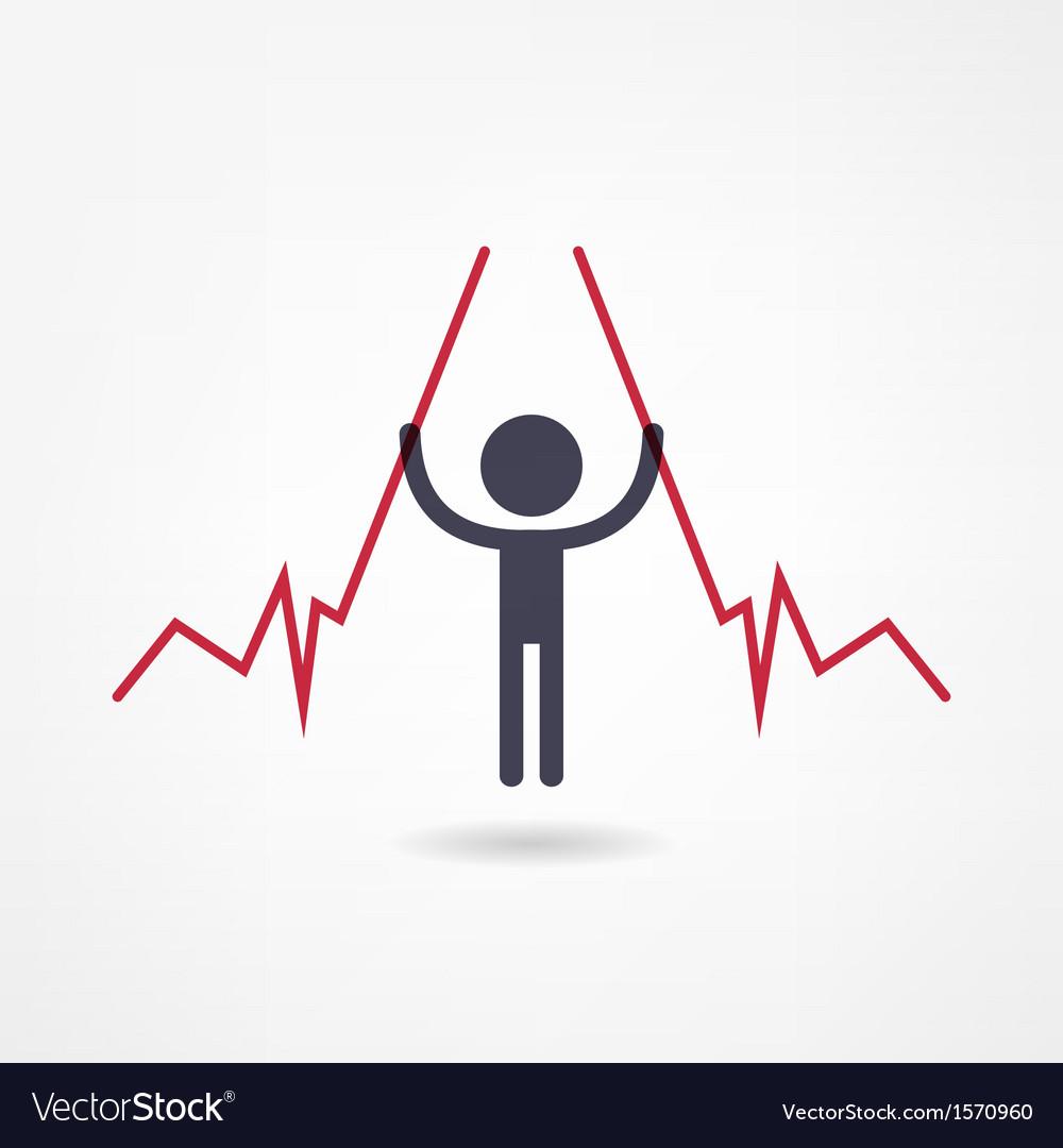 Income icon vector | Price: 1 Credit (USD $1)