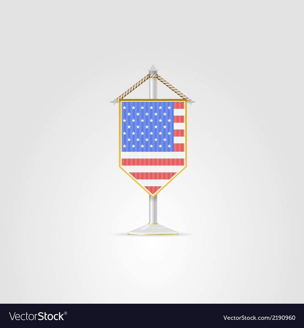 National symbols of north america countries usa vector | Price: 1 Credit (USD $1)
