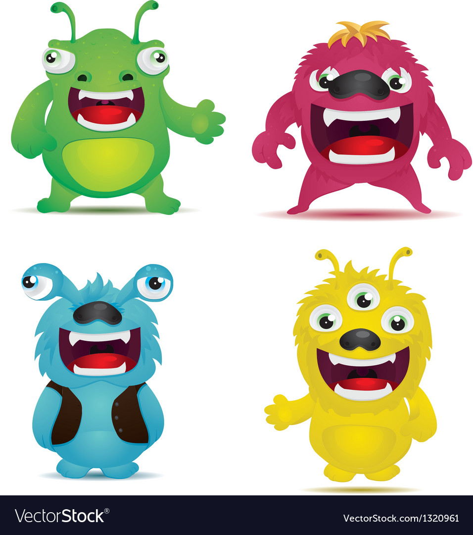 Monster virus vector | Price: 3 Credit (USD $3)