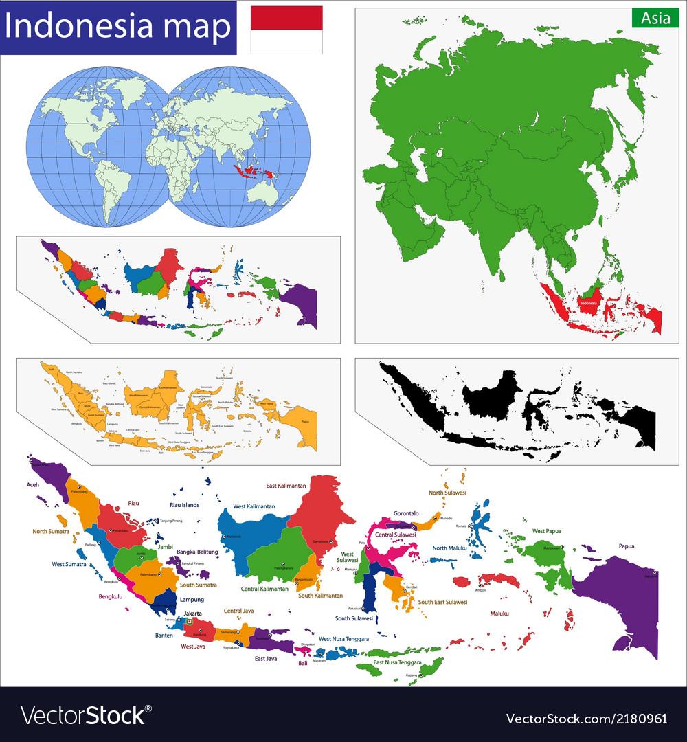 Republic of indonesia vector | Price: 1 Credit (USD $1)