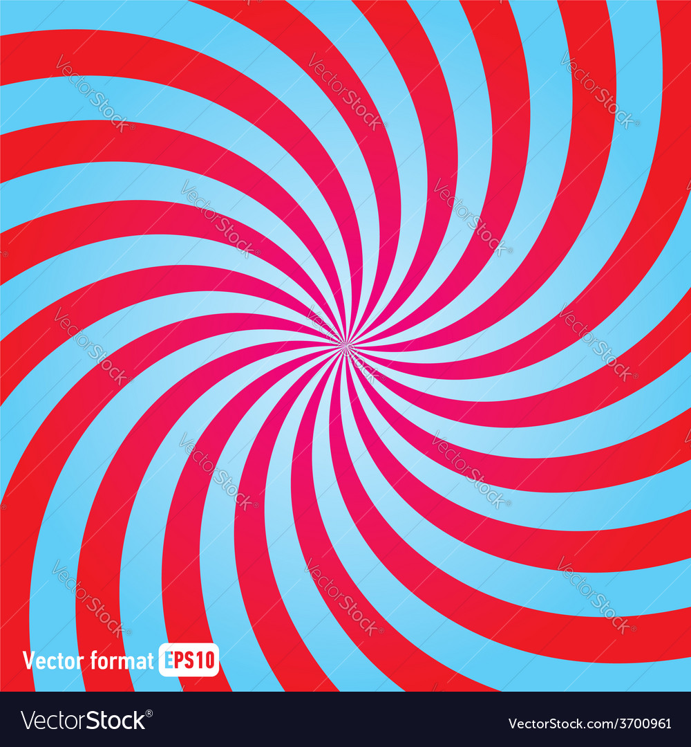 Stripes red blue circle square abstract vector | Price: 1 Credit (USD $1)