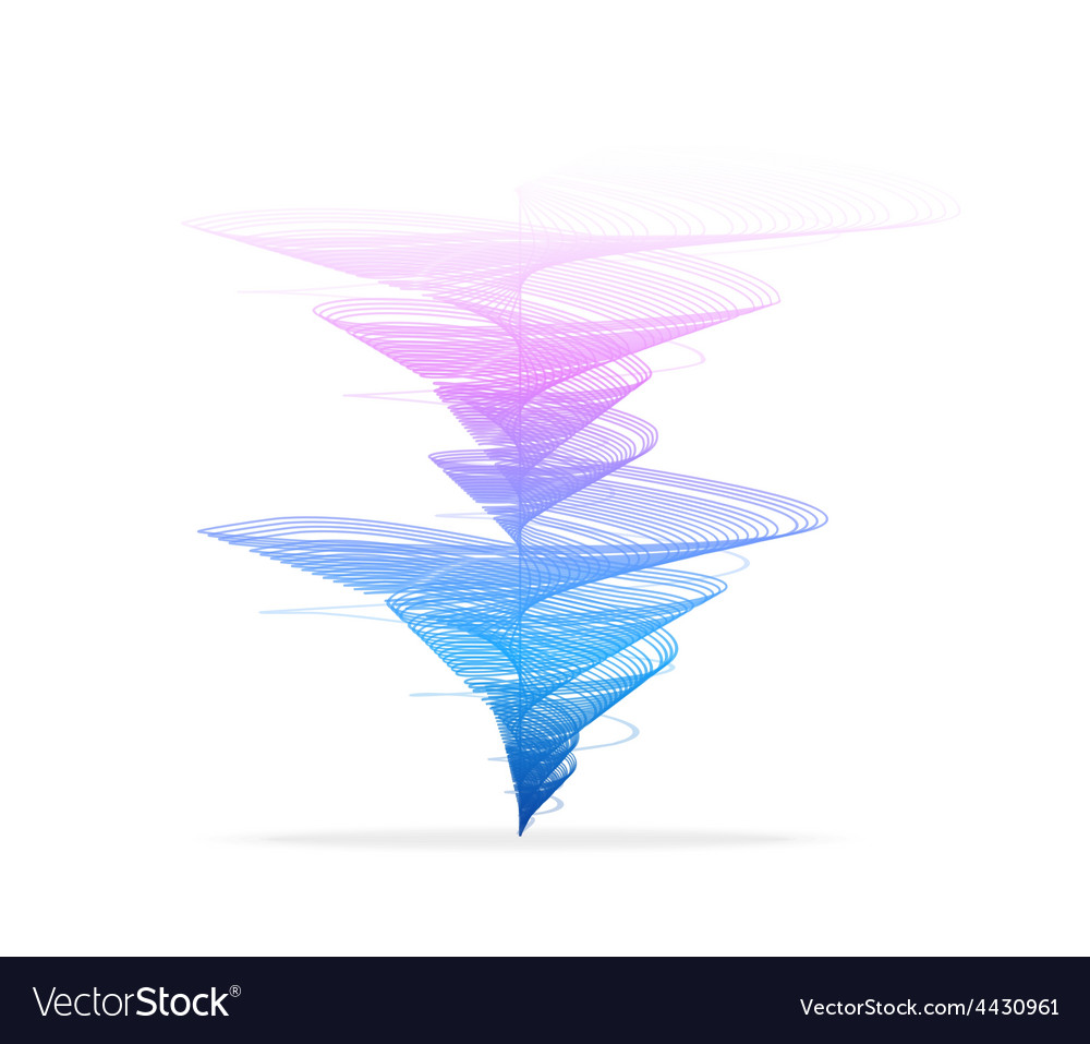 Tornado vortex vector