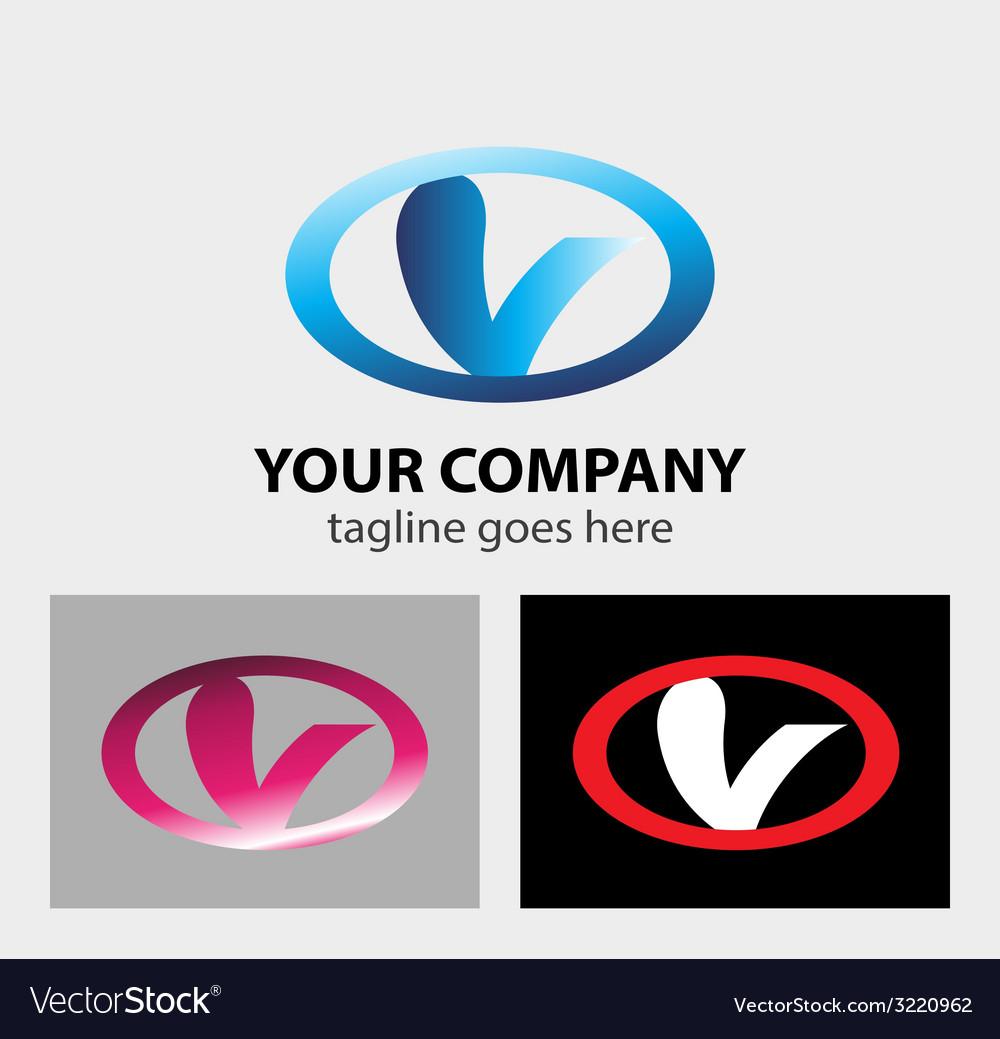 Letter v logo icon vector   Price: 1 Credit (USD $1)