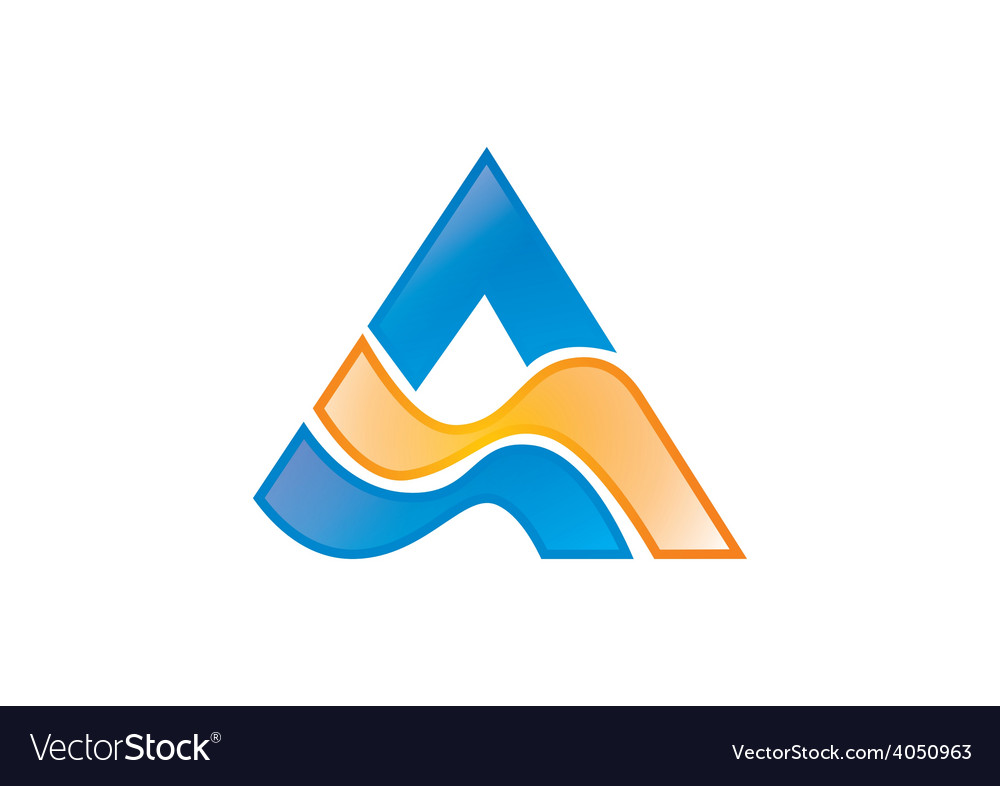 Business a abstract logo vector | Price: 1 Credit (USD $1)
