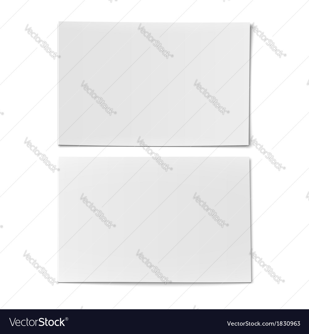 Couple of business card template vector | Price: 1 Credit (USD $1)