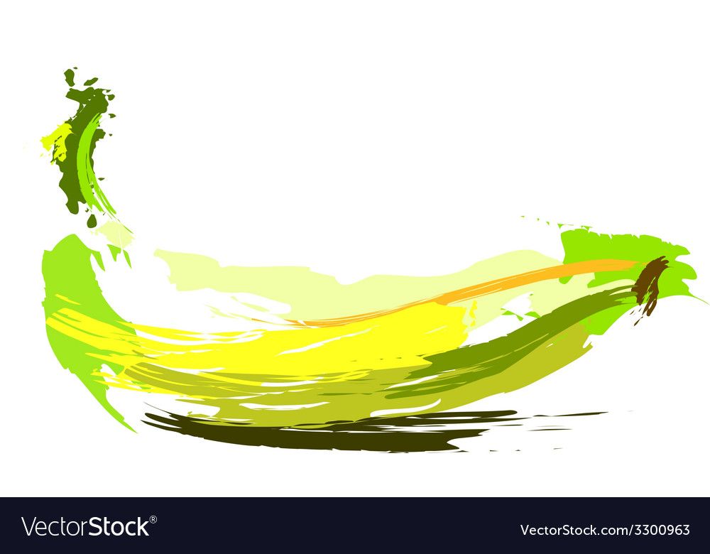Drawing banana vector | Price: 1 Credit (USD $1)