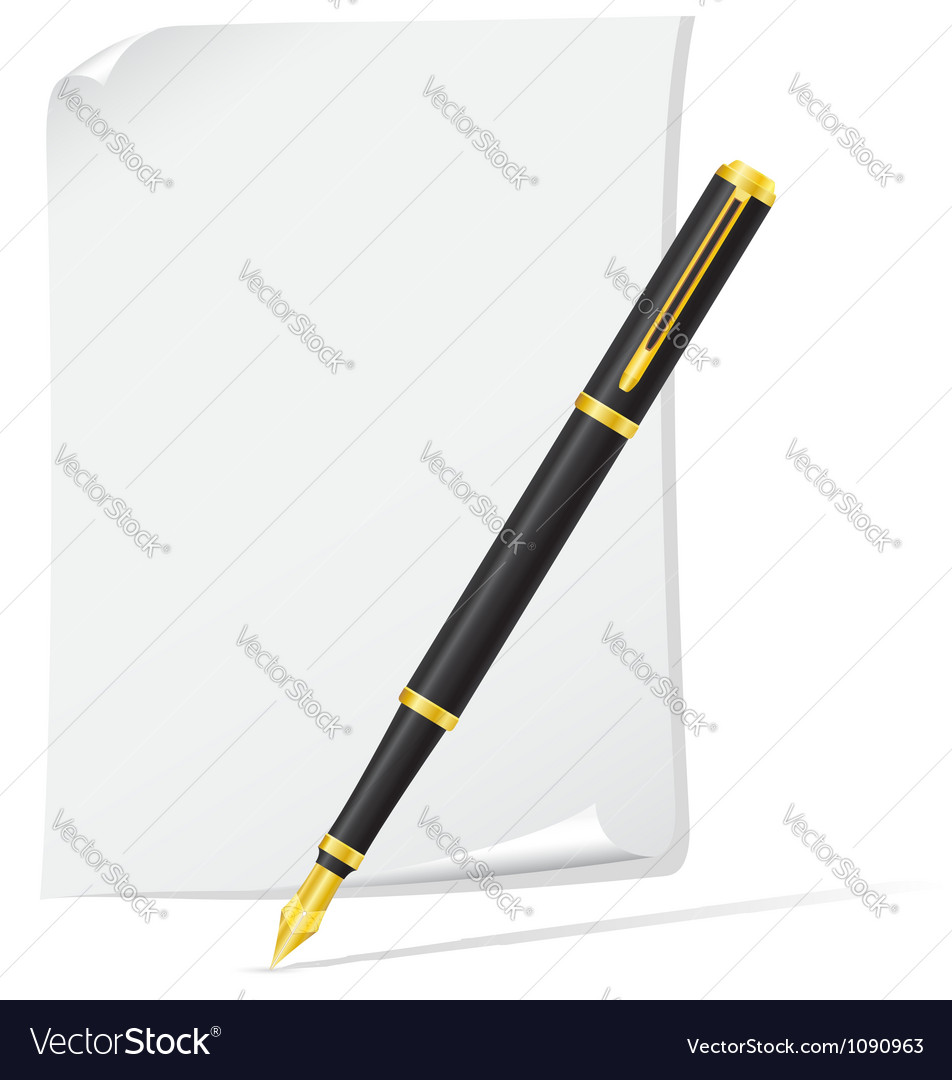 Ink pen 04 vector | Price: 1 Credit (USD $1)
