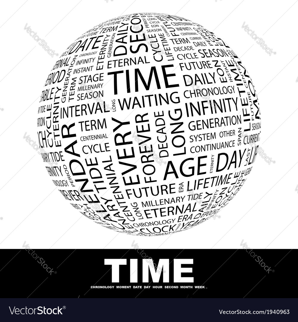 Time vector | Price: 1 Credit (USD $1)
