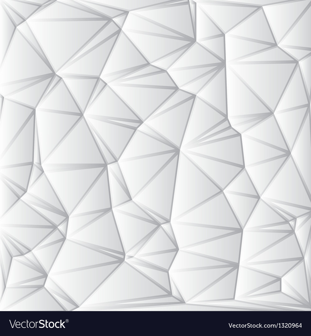 Abstract white geometrical background vector | Price: 1 Credit (USD $1)