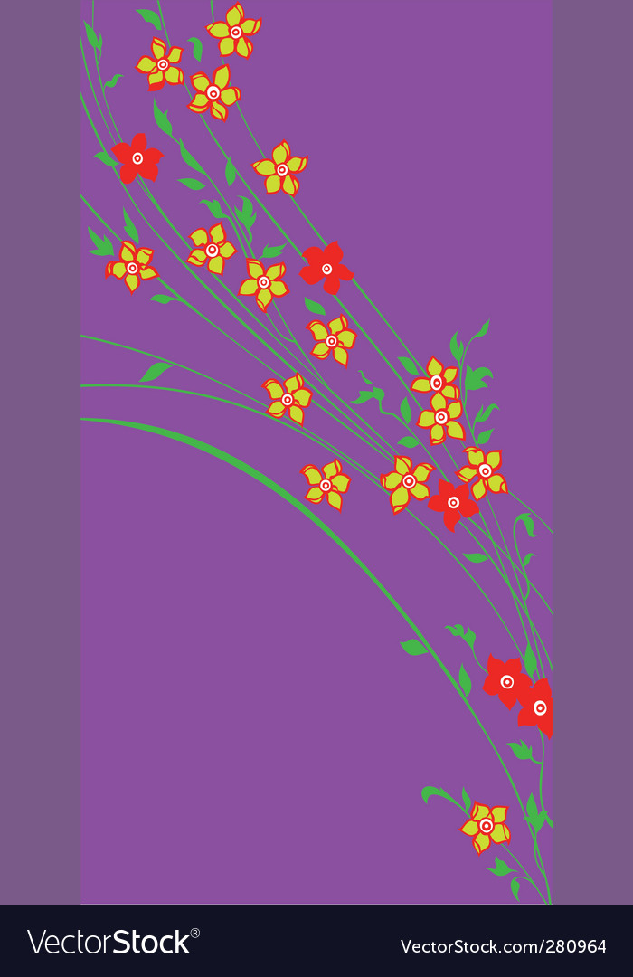 Flower waltz vector | Price: 1 Credit (USD $1)