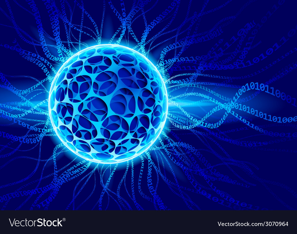 Plasma ball vector | Price: 1 Credit (USD $1)