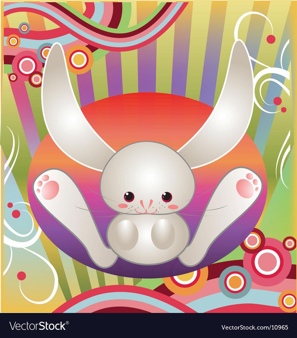 Funny bunny vector | Price: 3 Credit (USD $3)