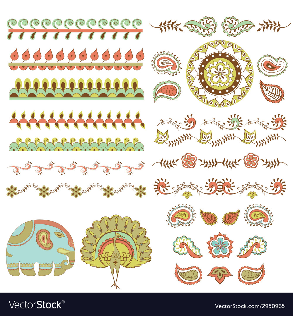 Hindu ornament vector | Price: 1 Credit (USD $1)