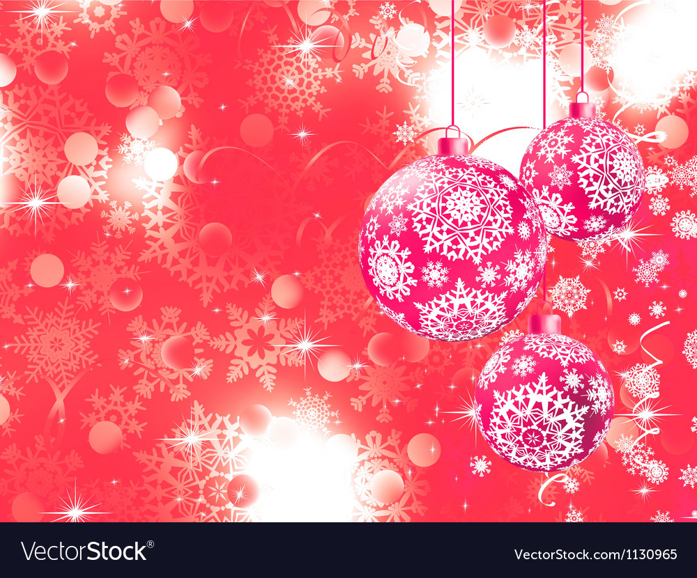 Merry christmas with stars bokeh lights eps 8 vector | Price: 1 Credit (USD $1)