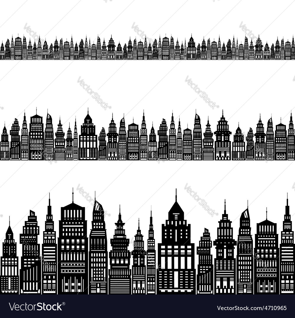 Modern big city vector | Price: 1 Credit (USD $1)