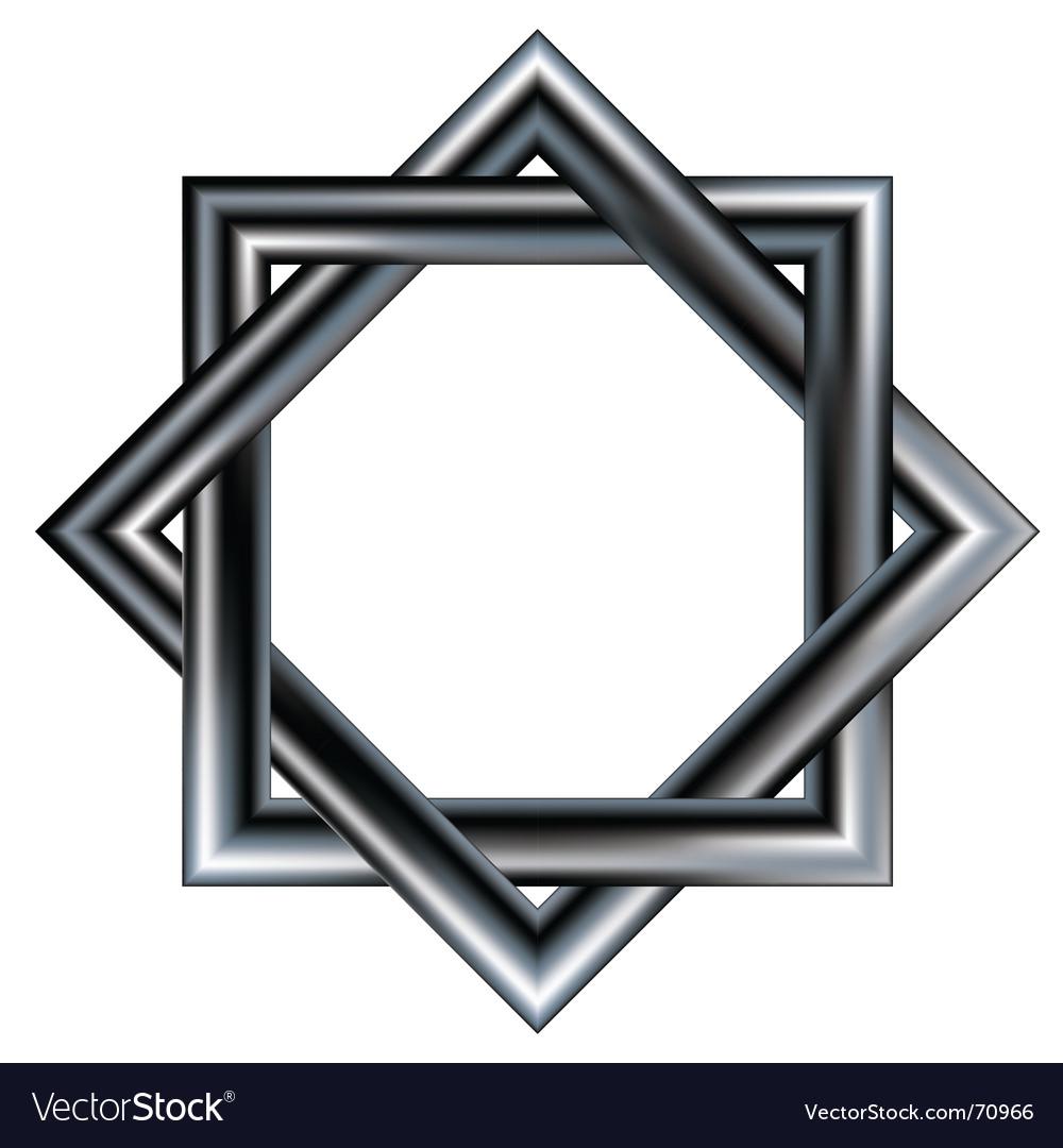 Celtic star design pattern vector | Price: 1 Credit (USD $1)