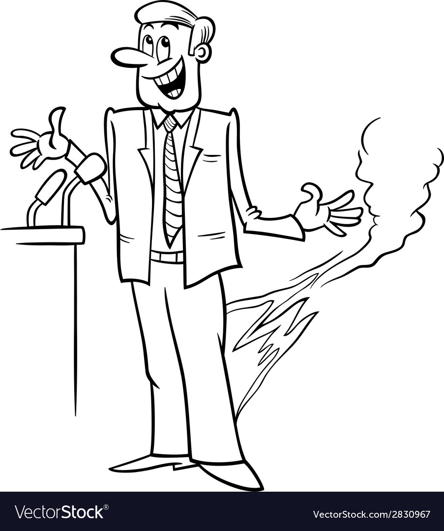 Pants on fire saying coloring page vector | Price: 1 Credit (USD $1)