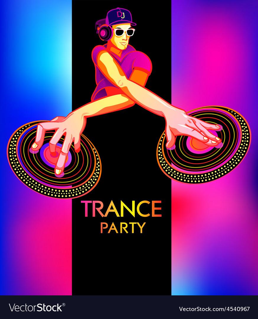 Trance party dj vector   Price: 3 Credit (USD $3)