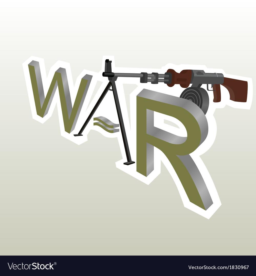 War vector | Price: 1 Credit (USD $1)