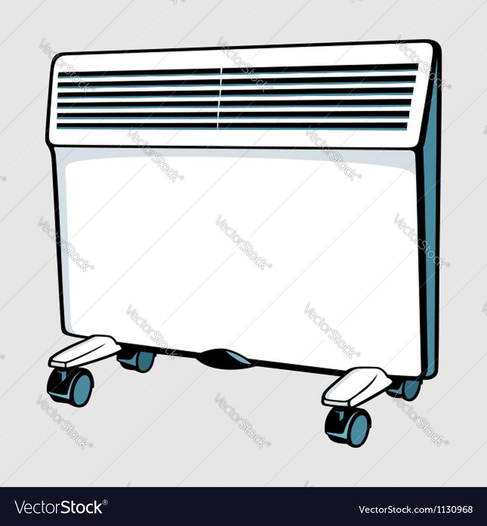 Con heater vector | Price: 1 Credit (USD $1)