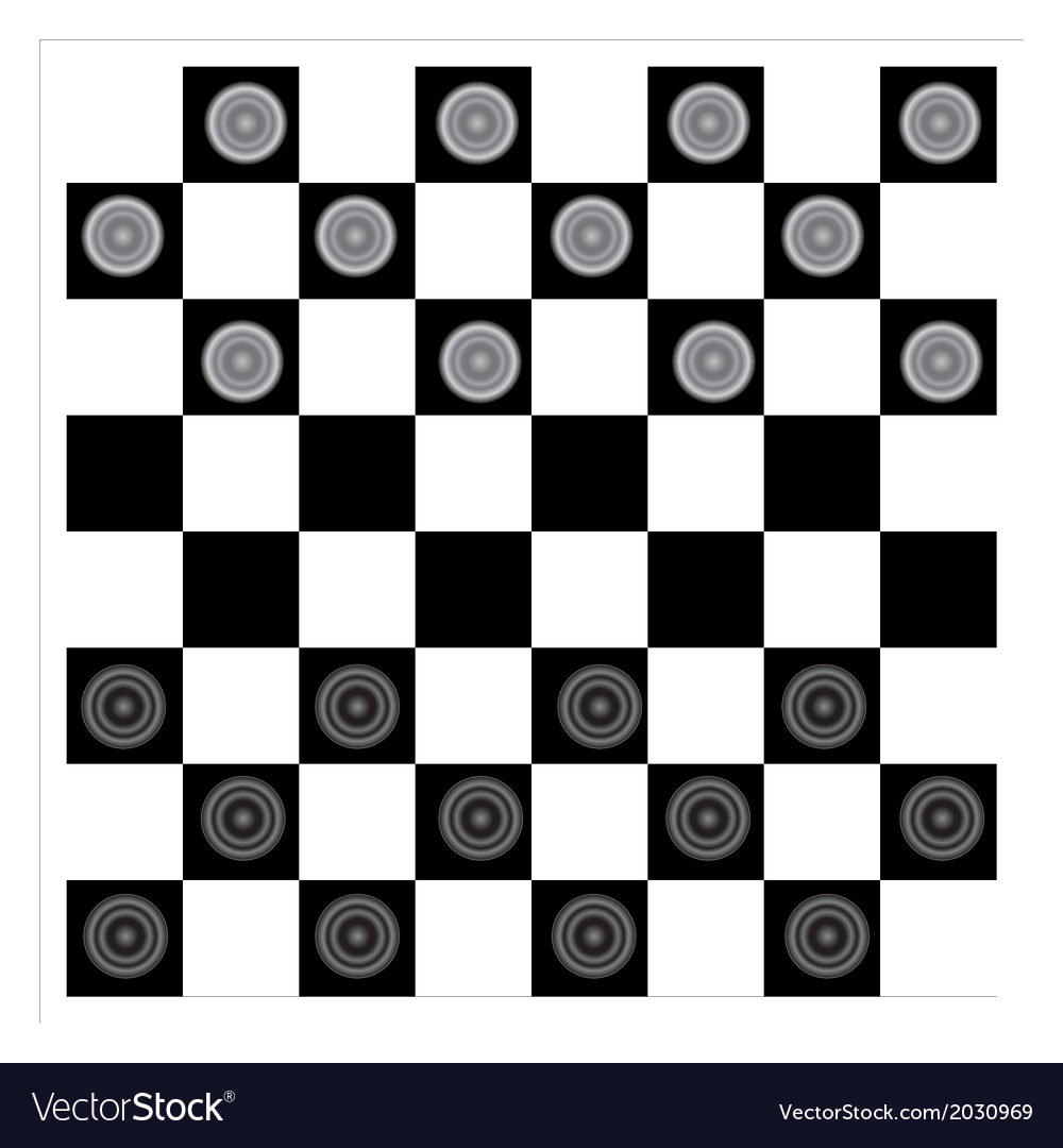 Checkers vector | Price: 1 Credit (USD $1)