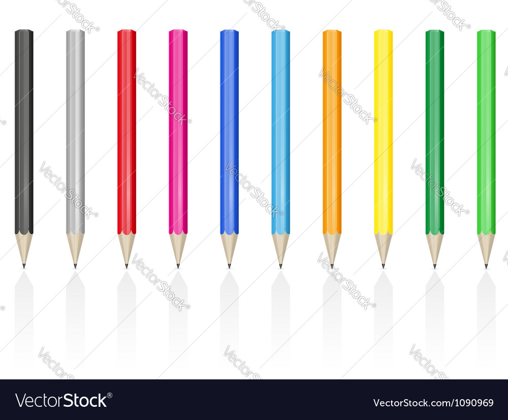 Pencil 03 vector | Price: 1 Credit (USD $1)