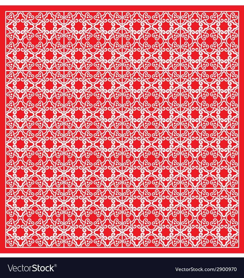 Classic oriental pattern vector | Price: 1 Credit (USD $1)