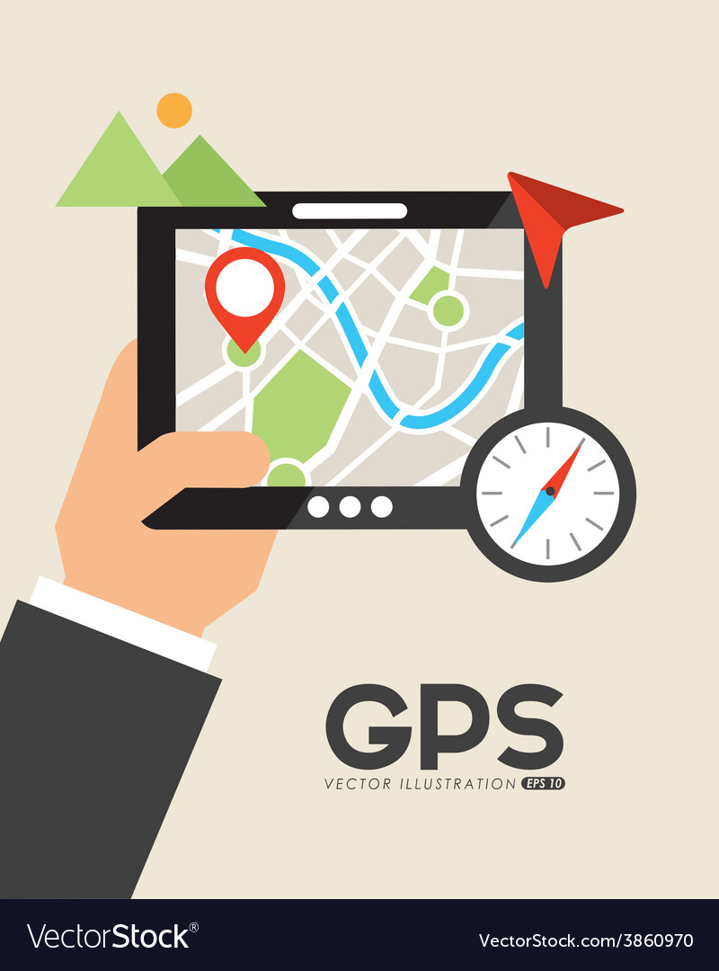 Gps signals vector | Price: 1 Credit (USD $1)