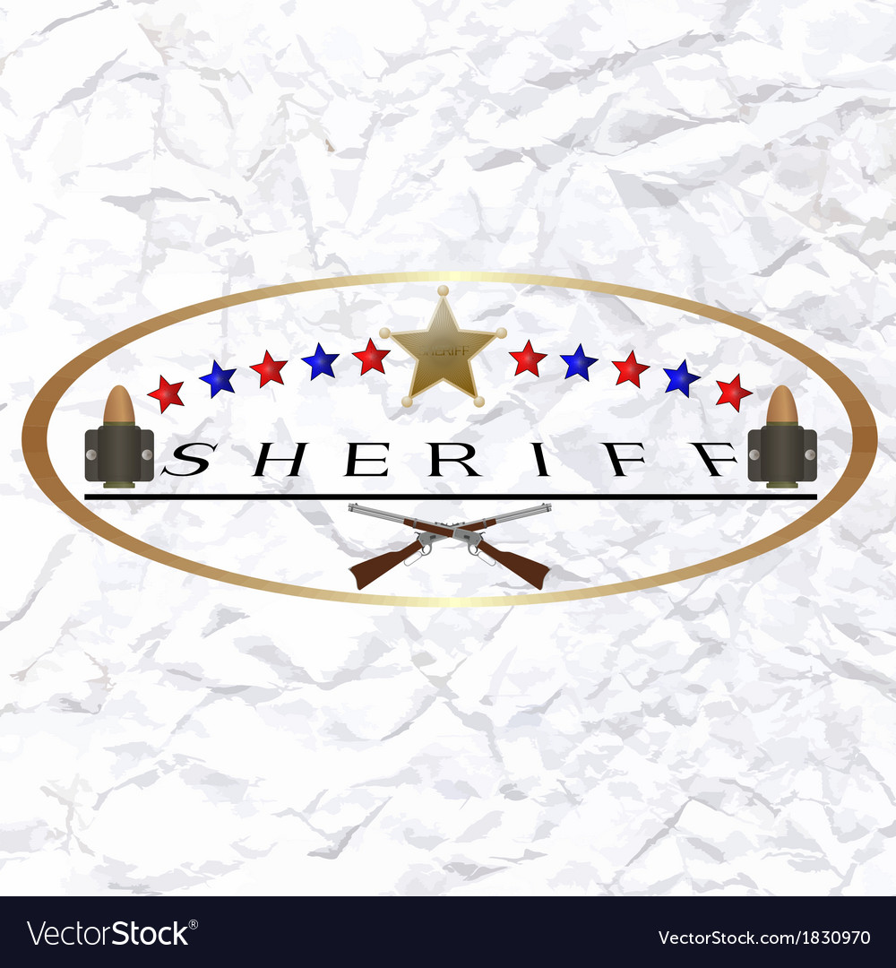 Sherif-6 vector | Price: 1 Credit (USD $1)