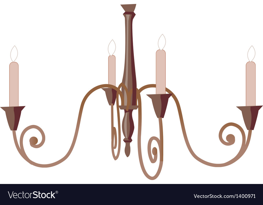 A chandelier vector | Price: 1 Credit (USD $1)
