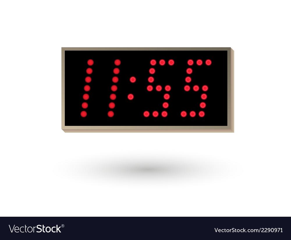 Five minutes before twelve vector | Price: 1 Credit (USD $1)