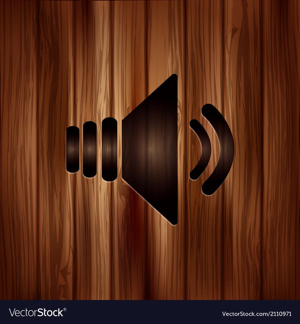 Speaker icon volume symbol vector | Price: 1 Credit (USD $1)