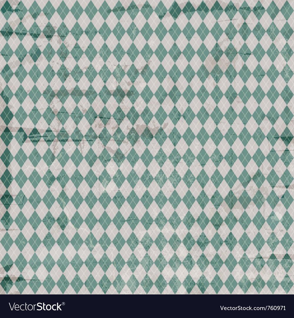 Vintage argyle pattern vector | Price: 1 Credit (USD $1)