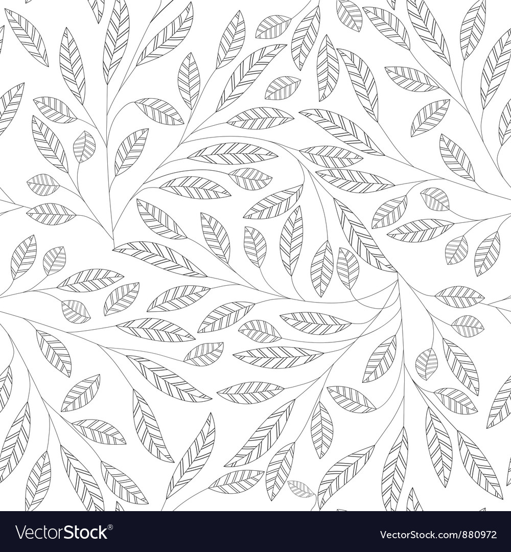 Leaf pattern vector | Price: 1 Credit (USD $1)