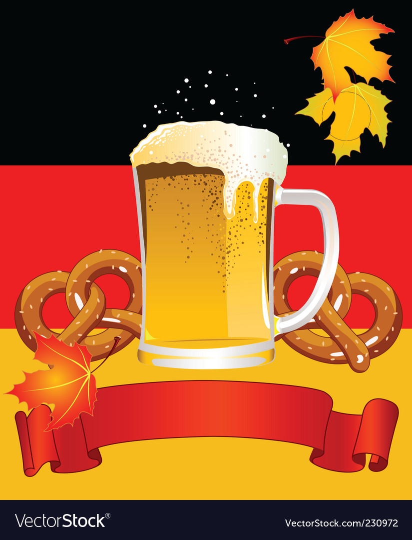 Oktoberfest celebration background vector | Price: 3 Credit (USD $3)