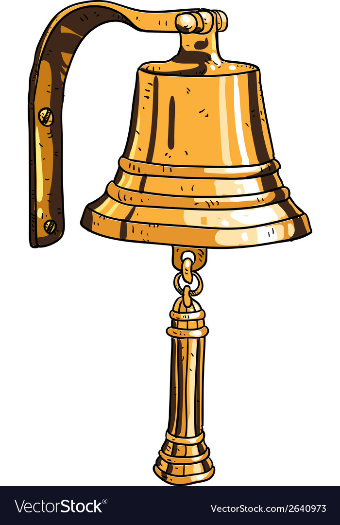 Marine theme ships bell vector | Price: 1 Credit (USD $1)